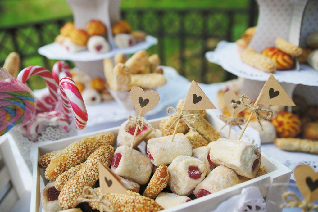 Candy bar - bar ze słodyczami i przekąskami na weslu.